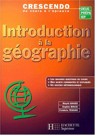 Introduction à la géographie