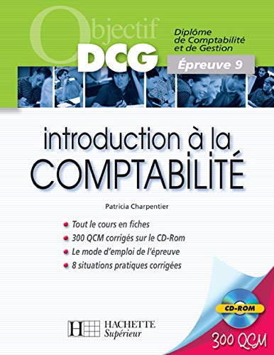 Introduction à la Comptabilité DCG9 (1Cédérom)