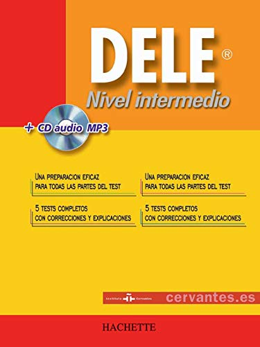 DELE Nivel intermedio : Avec un CD audio mp3 (1CD audio)