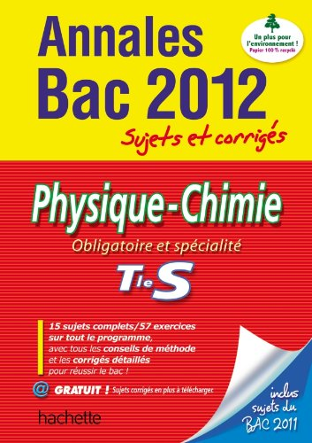 Physique-Chimie Tle S