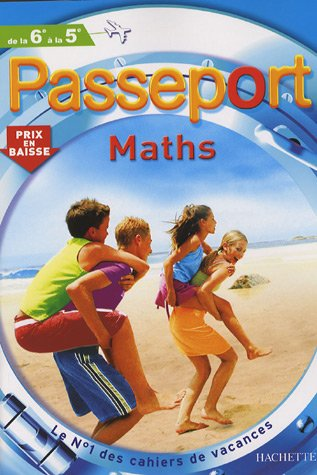 Passeport Maths de la 6e à la 5e