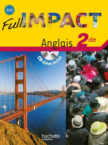 Full impact Anglais 2de (1CD audio)