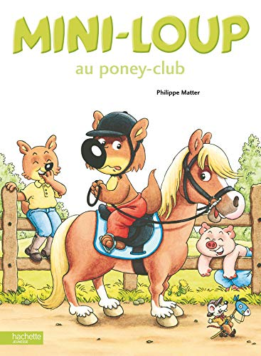 Mini-Loup au poney-club