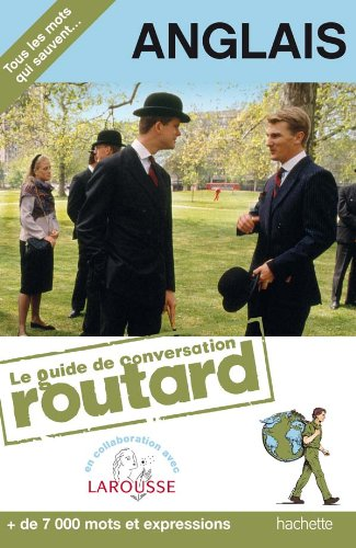 Guide de conversation Routard anglais