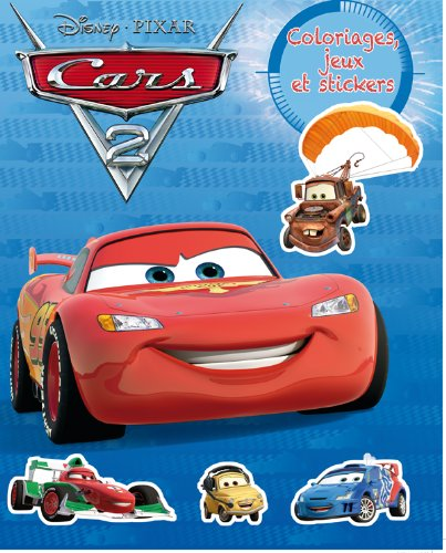 Cars 2, COLOS JEUX ET STICKERS Nº1