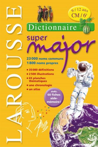 Larousse Super Major 9/12 ans