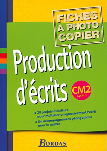 Production d'écrits, cycle 3