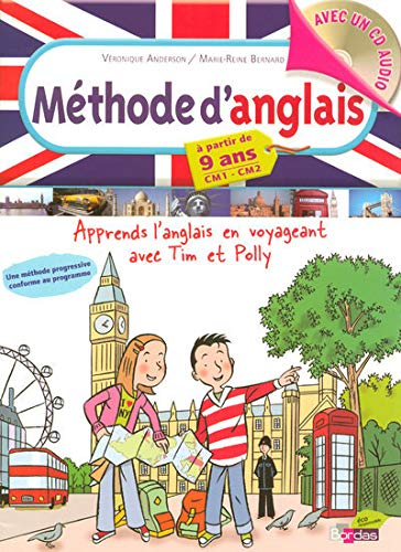 Méthode d'anglais CM1 CM2 (1CD audio)