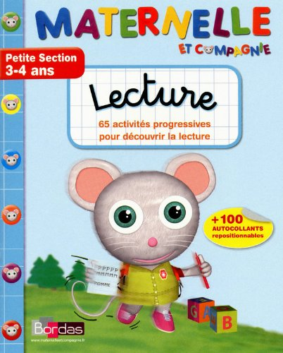 Lecture Petite Section 3-4 ans