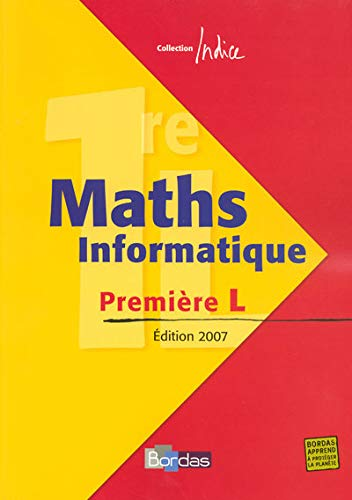 Maths Informatique 1e L