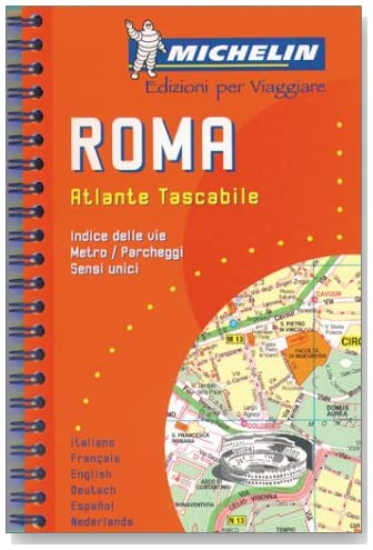 Michelin Rome Mini-Spiral Atlas No. 2038