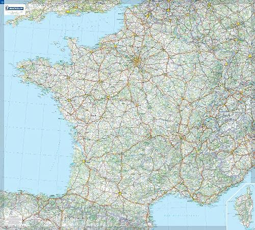 France (Michelin Wall Maps)