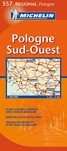 Pologne Sud-Ouest : 1/300 000