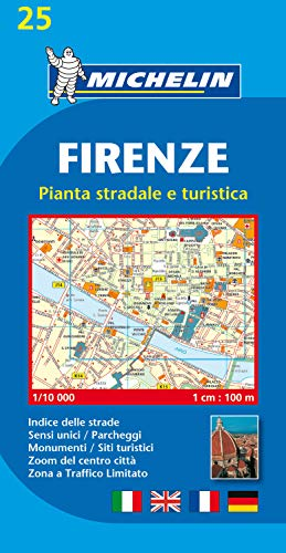 Firenze (Florence) - Michelin City Plans