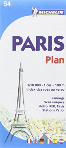 Plano París Plan et Index
