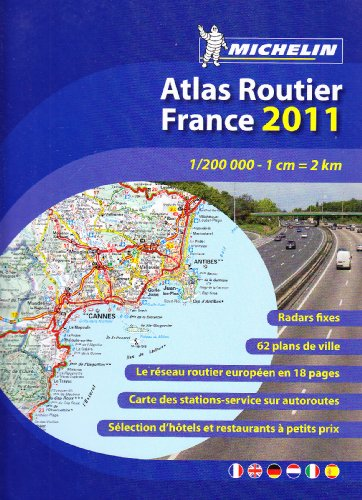Atlas Routier France 2011 Relié