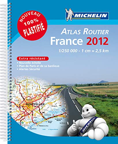 Atlas Routier France 2012 100% Plastifie
