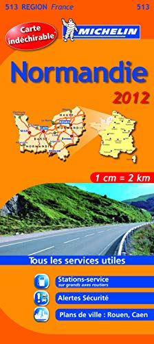 Carte REGION Normandie 2012