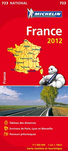 Carte NATIONAL France 2012 (format livret)