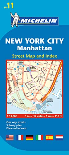 Plan New York City Manhattan