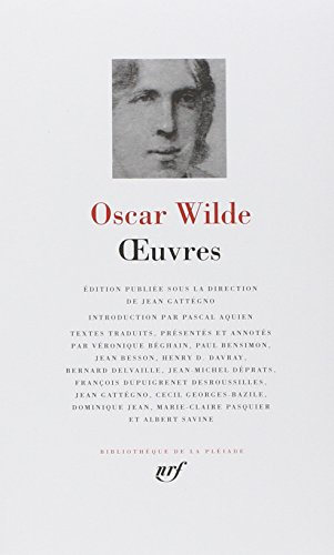 Oscar Wilde : Oeuvres