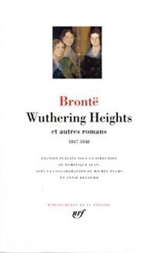 Wuthering Heights et autres romans