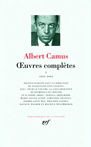 Oeuvres complètes : Tome 1, 1931-1944