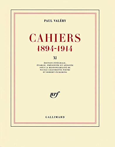 Cahiers 1894-1914 : Tome 11, 1911-1912