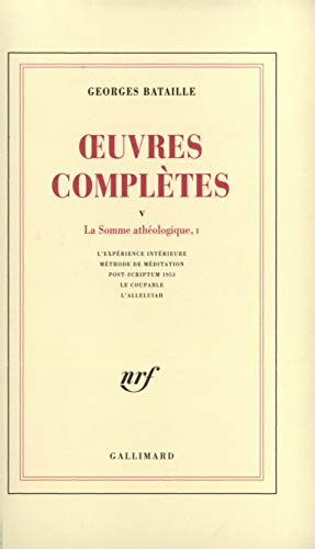 Oeuvres complètes, tome 5
