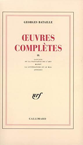 Oeuvres complètes, tome 9