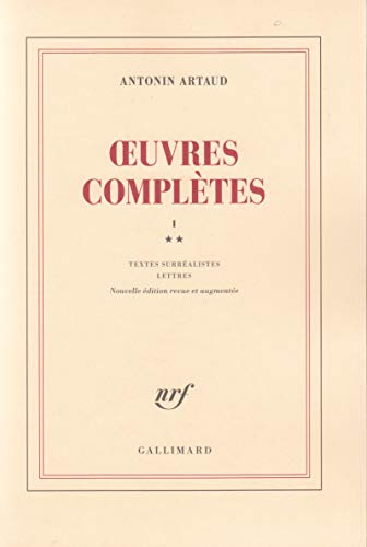 Oeuvres complètes, tome 1, volume 2