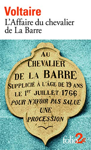 L'Affaire du chevalier de La Barre