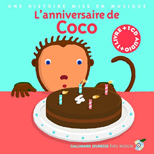 L'anniversaire de Coco (1CD audio)