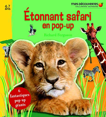 Etonnant safari en pop-up