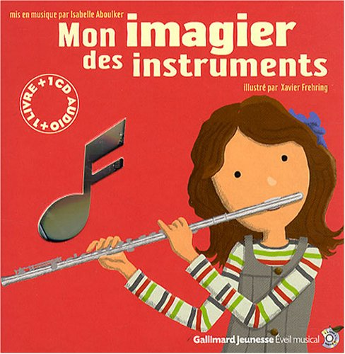 Mon imagier des instruments (1CD audio)