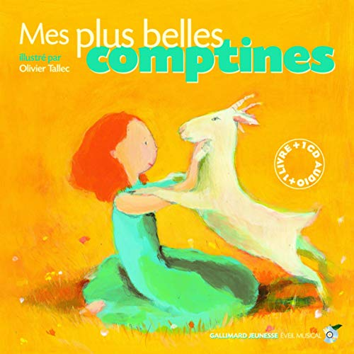 Mes plus belles comptines (1CD audio)