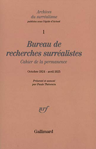 Archives du surréalisme