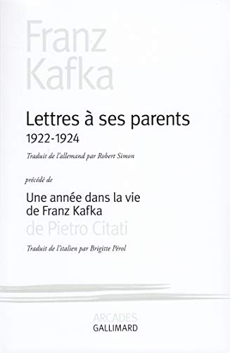 Lettres à ses parents, 1922-1924