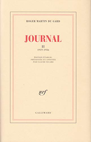 Journal, tome 2