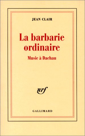 La barbarie ordinaire