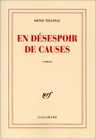 En désespoir de causes