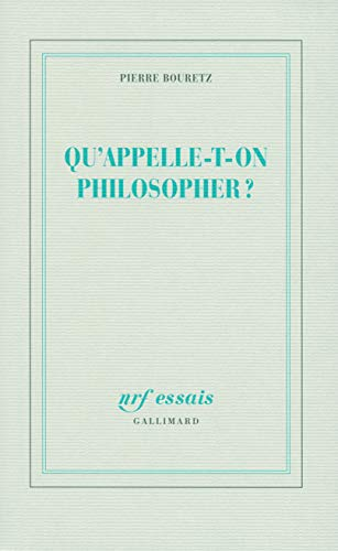 Qu'appelle-t-on philosopher ?