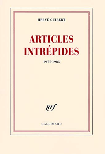 Articles intrépides : 1977-1985