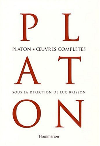 Platon, oeuvres complètes