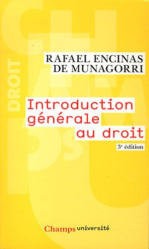 Introduction generale au droit