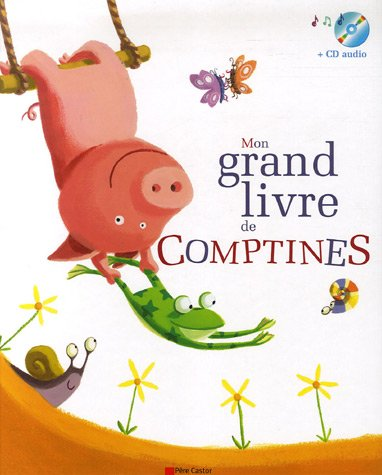 Mon grand livre de Comptines (1CD audio)