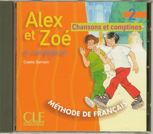 Alex Et Zoe Level 2 Student's CD