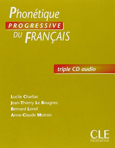 Phonétique Progressive Du Français, Débutante Triple Cd Audio