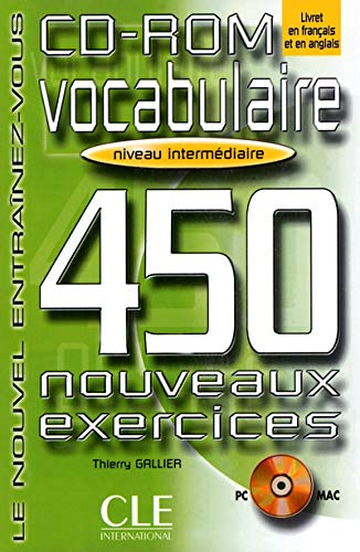 Vocabulaire 450 Exercises CD-ROM (Intermediate)