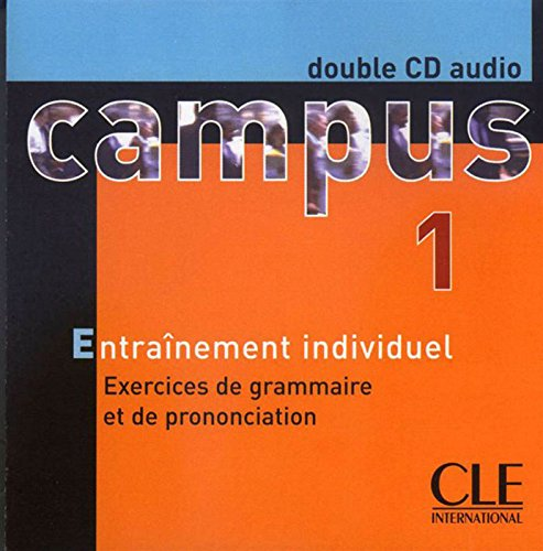 Campus 1 : Exercices de grammaire et de prononciation (coffret 2 CD)